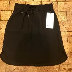 NWT Lululemon on the fly skirt
